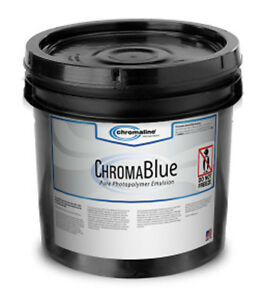 Chromaline Chromablue Photopolymer Pre Sensitized Emulsion Screen Printing 1 Qt