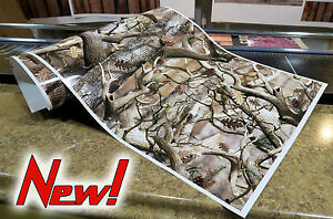 Gloss Camo Decal Made From 3m Wrap Vinyl Truck Camo Tree Print Buck Camouflage L