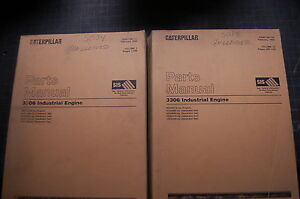 Cat Caterpillar 3306 Diesel Engine Part Manual Book Generator Gen Set Spare 1999