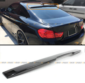 For 14 2020 Bmw F32 428i 435i 4 Series Coupe Carbon Fiber Rear Roof Spoiler Wing