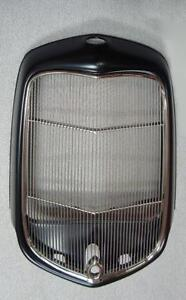 1932 Ford Street Rod Steel Radiator Shell W Hole Stainless Grille Insert Hole