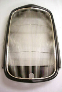 1932 Ford Coupe Roadster Sedan Steel Radiator Shell W Stainless Grille Insert