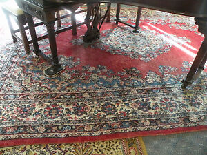 9 X 12 Large Persian Wool Area Rug