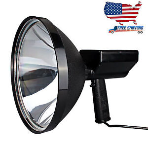 9 Inch 100w 240mm Handheld Hid 9 Spotlight Driving Lights Hunting Search Light