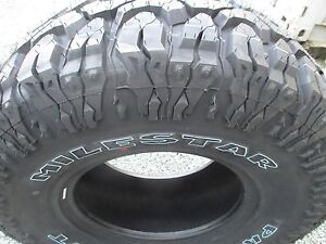 4 New 31x10 50r15 Milestar Mud Tires 31105015 31 10 50 15 M t Mt 3110 5015 R15