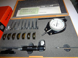 Mitutoyo Dial Bore Gauge Set 526 152 Metric 3 7 7 3 Mm 001extra Small Holes New