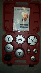9 Circle Oil Filter Wrench Set 6126023 9 Pc New In Case