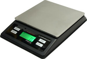 Weigh Scale Us Balance Super Bench Top 3000g X 0 1g Gram Troy Ounce Dwt Black