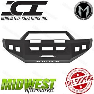 Ici Magnum Front Bumper W Rt Series Bar Fits 2005 2014 Toyota Tacoma