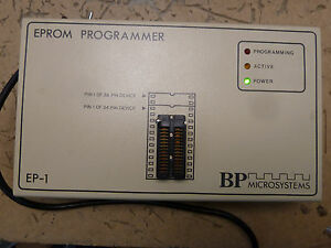 Bp Microsystems Ep 1 Eprom Programmer W Manual 2 h 46