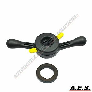40mm X 3 Quick Release Wheel Balancer Wing Nut For Accuturn Corghi