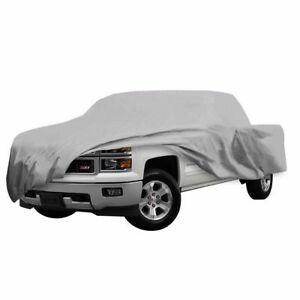 Pick Up Truck Car Cover Outdoor Snow Uv Dust Scratch Proof Up To 17 5 New