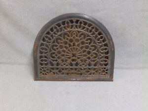 Antique Cast Iron Arch Top Dome Heat Grate Wall Register Old Vintage 580 16