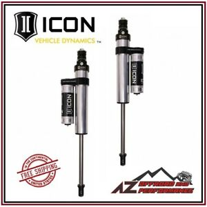Icon 2 5 Pbr Front Shocks 2 5 Lift For 05 20 Ford F250 F350 Super Duty 4wd