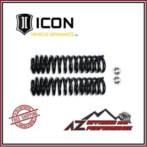 Icon 2 5 Lift Coil Spring Alignment Cam Kit For 05 20 Ford F250 F350 Super Duty
