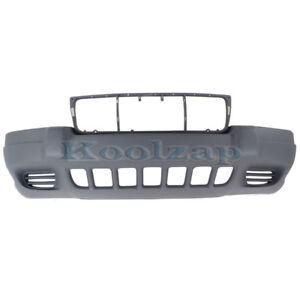 99 03 Grand Cherokee Front Bumper Cover Assembly Textured Ch1000264 5eu79zspab