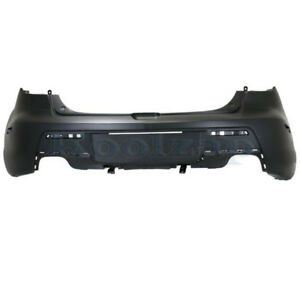 07 09 Mazda3 Rear Bumper Cover Assembly Dual Exhaust Type Ma1100189 Ba6r50221ebb