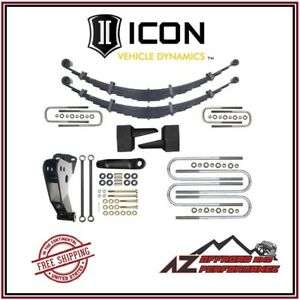 Icon 4 Spring System Lift For 1999 2004 Ford Super Duty F250 F350