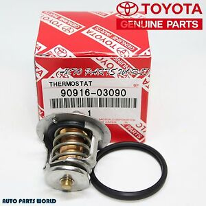 New Genuine Toyota 4cyl Thermostat Gasket Set 90916 03090 16325 63011