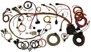 1970 1973 Chevrolet Camaro American Autowire Classic Wiring Harness Kit 510034