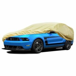 Ford Mustang Car Cover Fit 05 14 Waterproof Breathable Soft Outdoor Indoor Tan