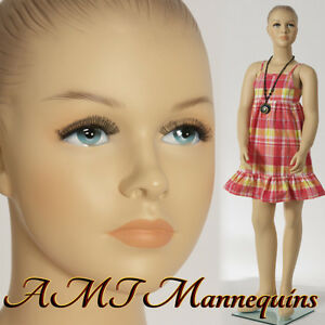 Child Female Mannequin Amt mannequins Display Girl Hand Made Manikin hope