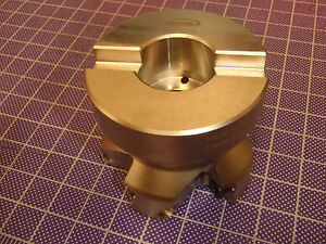 Hertel Face Mill 2 5 Cutting Dia 45 Degree 1 Arbor Indexable 47d