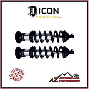 Icon Extended Travel Front Coil Over Shock Kit For 00 06 Toyota Tundra