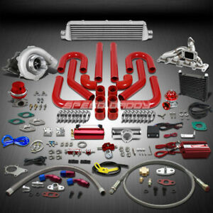 T04 63ar 400 Hp 16pc Turbo Charger Manifold Intercooler Kit For 03 05 Neon Srt4