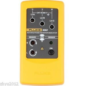 1pcs New Fluke 9062 Motor And Phase Rotation Indicator Tester