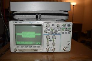 Agilent 54642a Digital Oscilloscope 500mhz 2gs s Megazoom 8m N2757a Manual