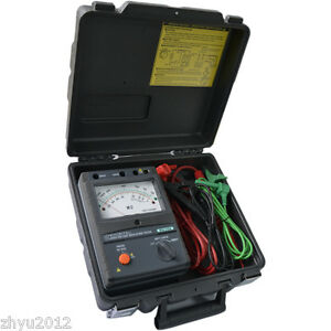 Kyoritsu 3123a High Voltage Insulation Tester 10000v 10kv New