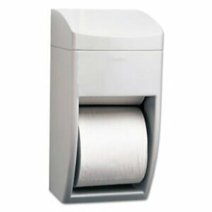 Bobrick Matrix Series Dual Roll Toilet Paper Dispenser Gray bob 5288