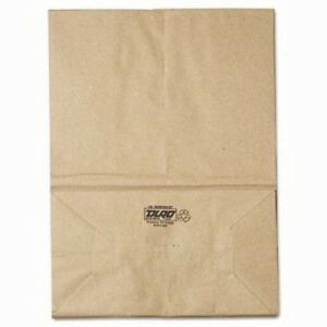1 6 57 Standard duty Brown Kraft Paper Grocery Bags 500 Per Bundle bag Sk1657