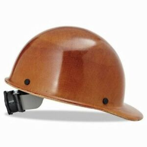 Msa Hard Hats With Ratchet Suspension 6 1 2 8 Natural Tan msa 475395