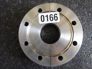 High Vacuum Research Chamber flange 3 25 Stainless Steel Ring Cap Ships Today