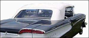 Edsel Pacer Convertible Top Package 1958 1959
