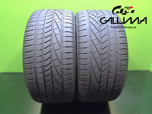 2 Excellent Goodyear 275 35 20 Excellence Runonflat Tech 102y Oem Bmw 45296