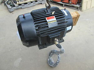 Nos Baldor reliance 60hp Electric Motor 3555rpm 60hz 230 460 Cat P32g5576c