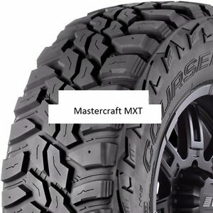 4 New 295 70r17 Mastercraft Mxt Mud Tires 2957017 295 70 17 70r R17 Mt E
