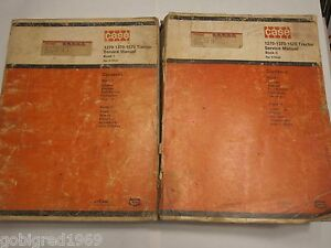Oem Case 1270 1370 1570 Tractor Service Shop Manual Set Lots More Listed