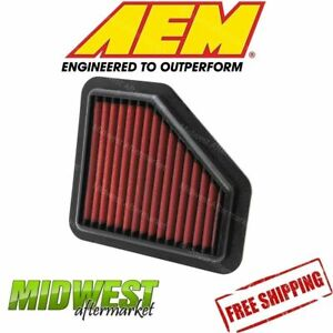 Aem Dryflow Air Filter Fits 05 10 Pontiac G5 Chevy Cobalt 2 2l 2 0l 2 4l
