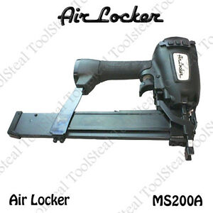 Air Locker Ms200a 16 Gauge 2 Long 7 16 Medium Crown Stapler