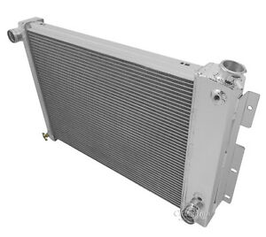 1967 1968 1969 Pontiac Firebird 4 Row Champion Wr Radiator Big Block Radiator