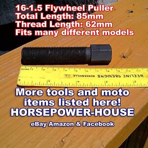 16mm Puller For Flywheel Magneto Stator Rotor Equivalent For Yamaha Ym 01080 A