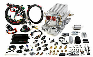 Small Block Chevy Avenger Efi Stealth Ram Vortec Fuel Injection System 36 Lb Hr
