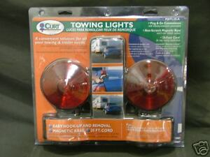 Magnetic Towing Lights For Car Truck Boat Trailer