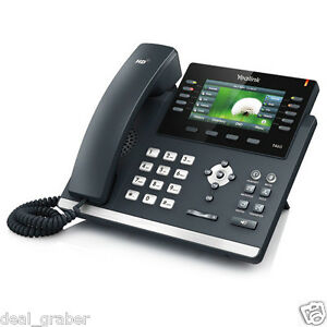 Yealink Sip t46g Ultra elegant Gb Color Bluetooth Hd Voice Ip Phone New