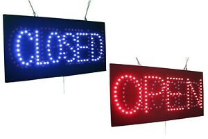 Open Closed Super Bright High Quality Led Open Sign Store Sign Business Sign