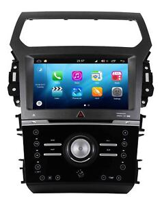 Android 8 0 Car Gps Navigation Dvd Wifi Radio Stereo For Ford Explorer Manual Ac